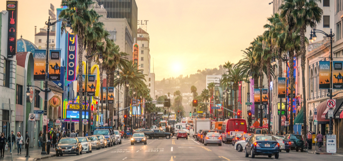 5 Razones para rentar un convertible en Los Ángeles..