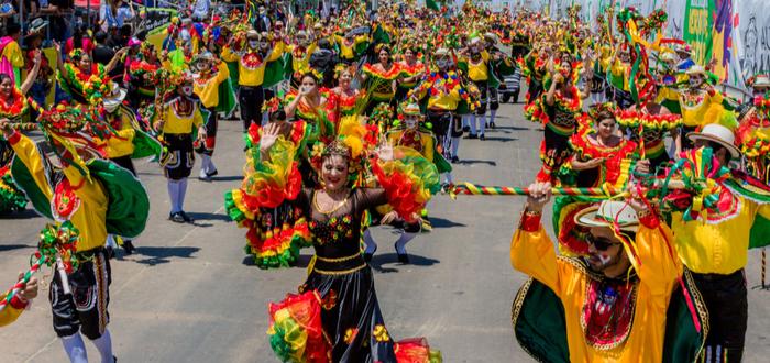 Las 5 festividades, más turísticas del mundo. Carnaval de Barranquilla