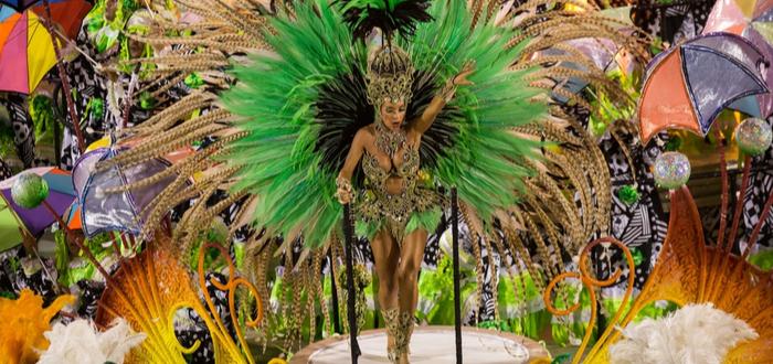 Las 5 festividades más turísticas del mundo. Carnaval de Río de Janeiro