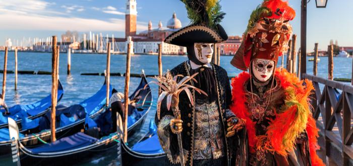 Las 5 festividades más turísticas del mundo. Carnaval de Venecia