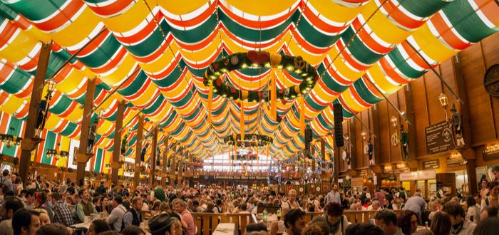 Las 5 festividades más turísticas del mundo. Oktoberfest