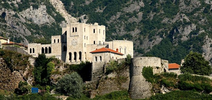 Qué ver en Albania, Castillo de Kruje