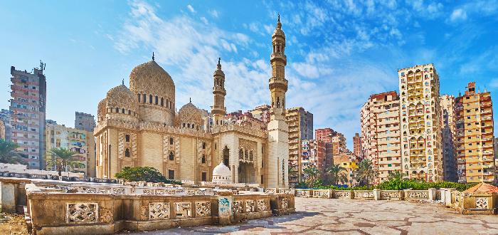 Qué ver en Alejandría| ezquita de Abu al-Abbas al-Mursi