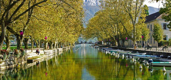 Qué ver en Annecy, Jardines de Europa