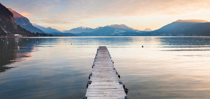 Qué ver en Annecy, Lago de Annecy