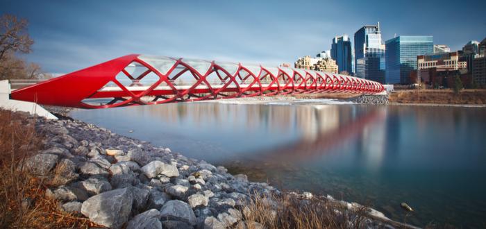Qué ver en Calgary. Peace Bridge