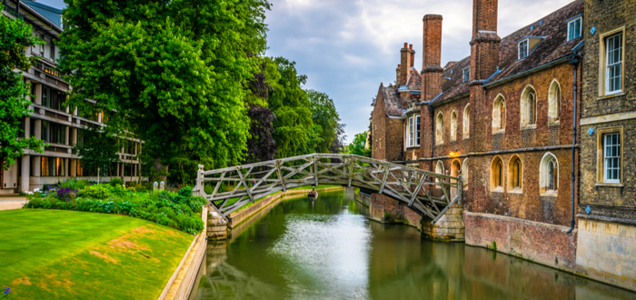 Qué ver en Cambridge. Mathematical Bridge