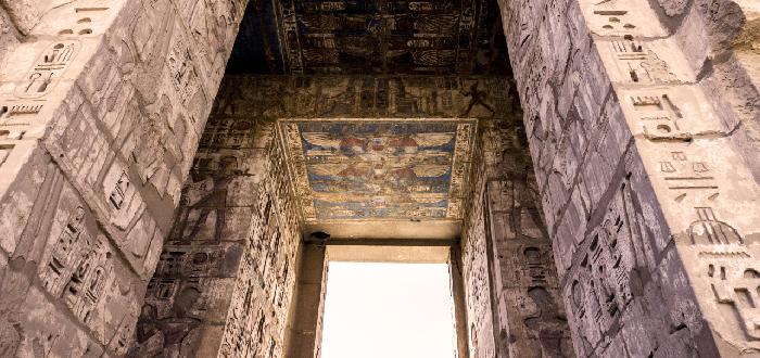 Qué ver en Luxor | Templo funerario de Ramsés III