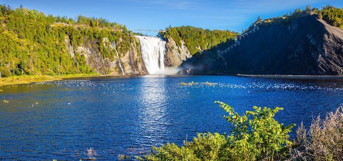 Qué ver en Quebec, Cascadas de Montmorency