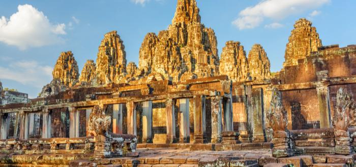 Qué ver en Siem Reap. Bayón