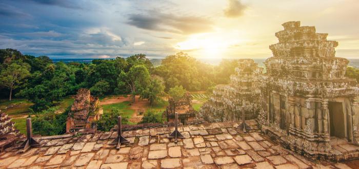 Qué ver en Siem Reap. Phnom Bakheng