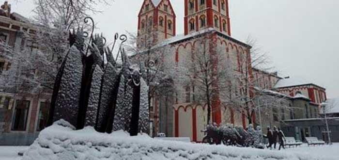 Que ver en Lieja | Colegiata Saint-Barthélemy de Lieja