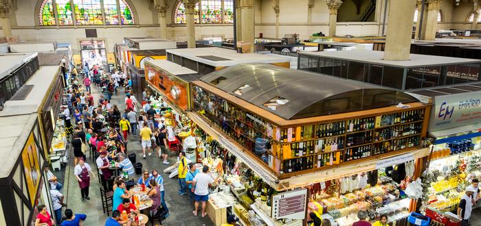 Que ver en Sa Paulo. Mercado Municipal de São Paulo