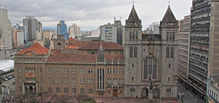 Que ver en Sa Paulo. Monasterio de São Bento
