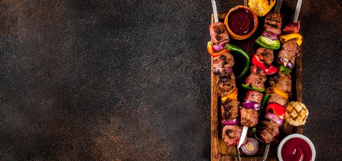 Comida típica de Jordania | Kebab