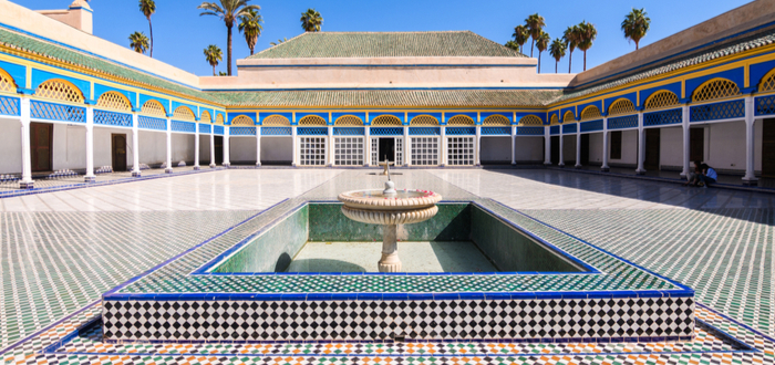 Los mejores planes en Marrakech para un viaje único. El Palacio Bahía