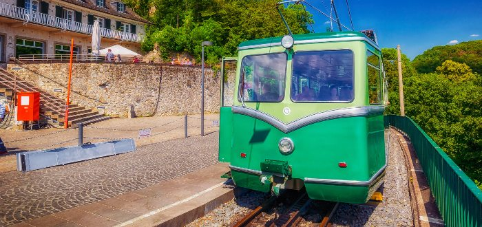 Qué ver en Bonn, Drachenfels Railway