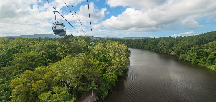 Qué ver en Cairns | Skyrail Rainforest Cableway