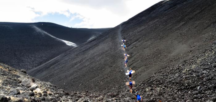 Qué ver en Nicaragua. Cerro Negro