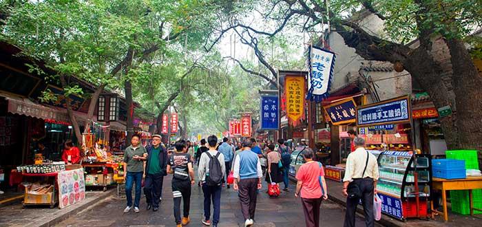 Qué ver en Xian | Huimin Jie Street