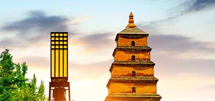 Qué ver en Xian | Templo budista Da Ci'en