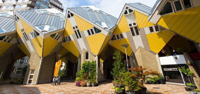 Qué ver en los Países Bajos, Casas cubo