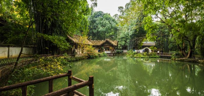 Que ver en Chengdu. Du Fu Thatched Cottage