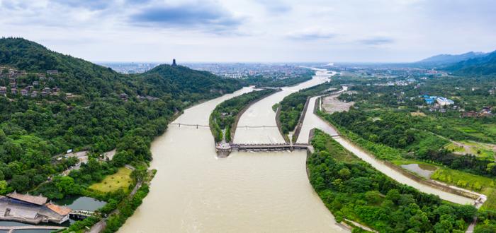Que ver en Chengdu. Sistema de irrigación de Dujiangyan