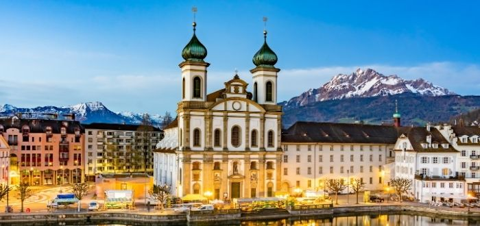Iglesia Jesuita de Lucerna   Qué ver en Lucerna