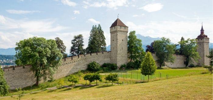 Muralla de la ciudad (Museggmauer)