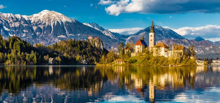 10 ciudades de Eslovenia. Bled
