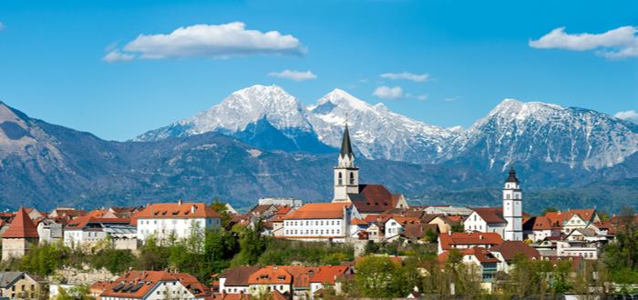 10 ciudades de Eslovenia. Kranj