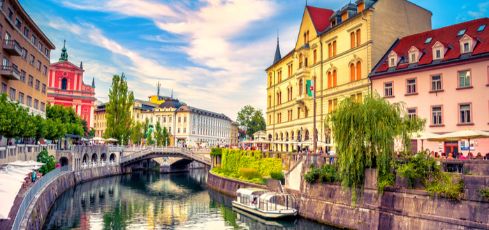 10 ciudades de Eslovenia. Liubliana