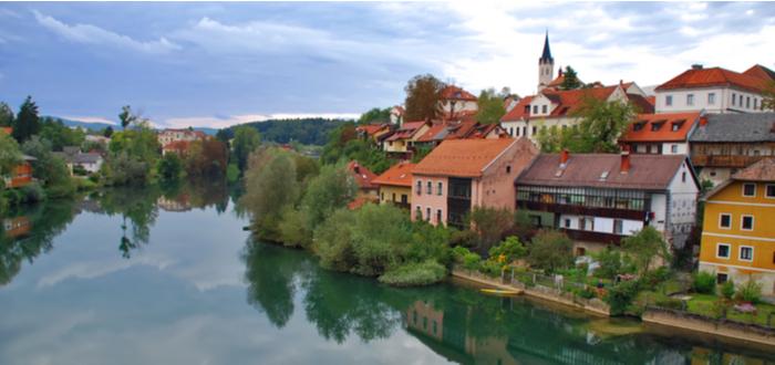 10 ciudades de Eslovenia. Novo Mesto