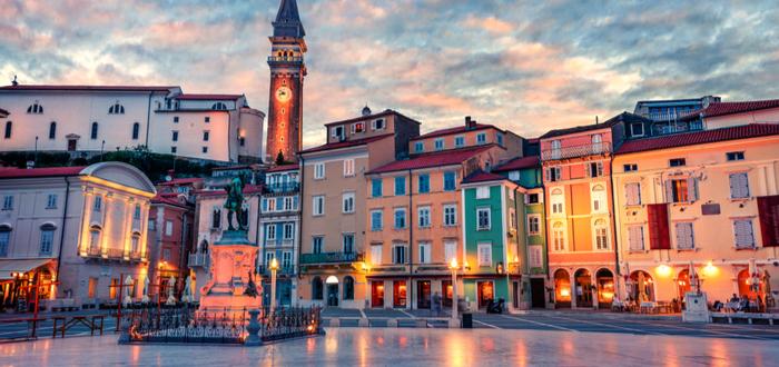 10 ciudades de Eslovenia. Piran