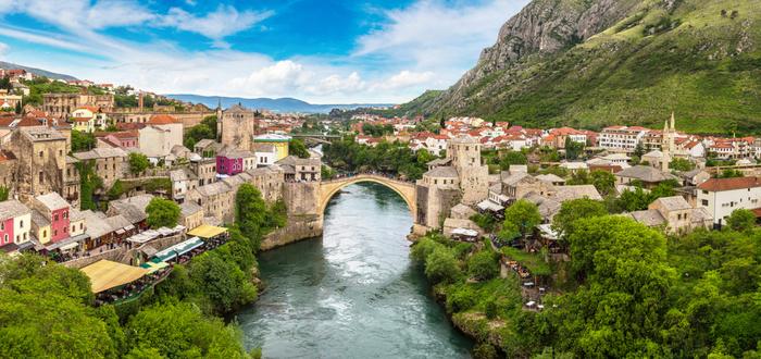 Qué ver en Bosnia. Puente de Mostar