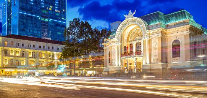 Qué ver en Ho Chi Minh, Ópera de Saigón