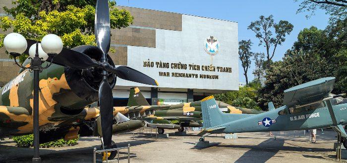 Qué ver en Ho Chi Minh, Museo de los Vestigios de la Guerra de Vietnam