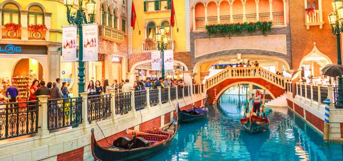Qué ver en Macao. The Venetian