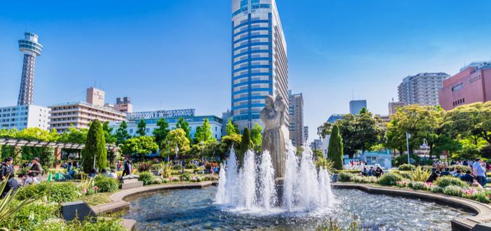 Qué ver en Yokohama. Yamashita Park