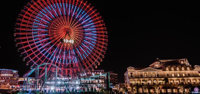Qué ver en Yokohama. Yokohama Cosmoworld