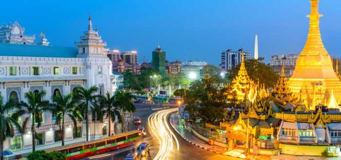 Qué ver en Birmania | Sule Pagoda