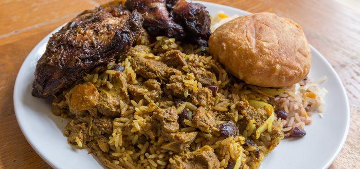 Comida típica de Jamaica: Cabra al curry