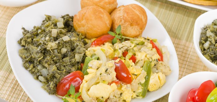 Ackee y pescado salado
