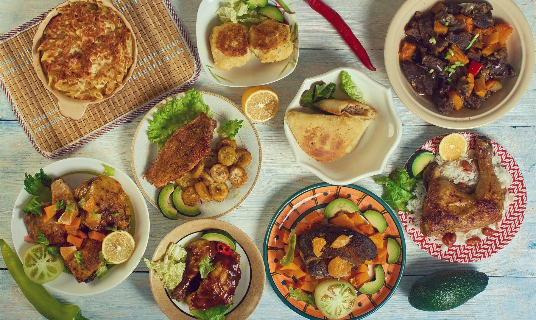 Comida típica de Jamaica, Platos Imprescindibles