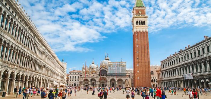 Las 10 plazas de Italia más bonitas. Piazza San Marco (Venecia)
