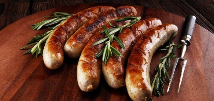 Platos típicos de alemania. Bratwurst
