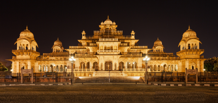 Qué ver en Jaipur. Albert Hall Museum