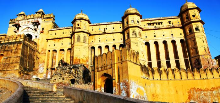 Qué ver en Jaipur. Fuerte Amber