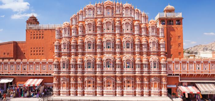 Qué ver en Jaipur. Hawa Mahal